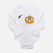 Princess Carriage Long Sleeve Infant Bodysuit