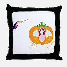 Princess Carriage Throw Pillow