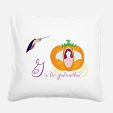 Fairy Godmother Square Canvas Pillow