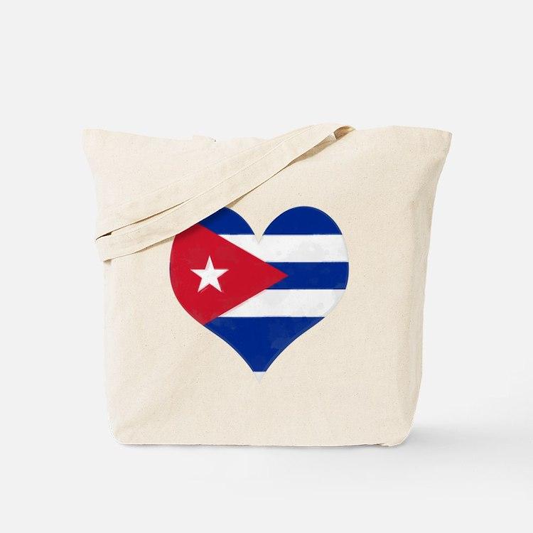 El Corazón de Cuba Tote Bag
