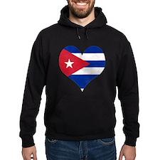 El Corazón de Cuba Hoodie
