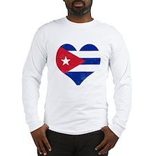 El Corazón de Cuba Long Sleeve T-Shirt