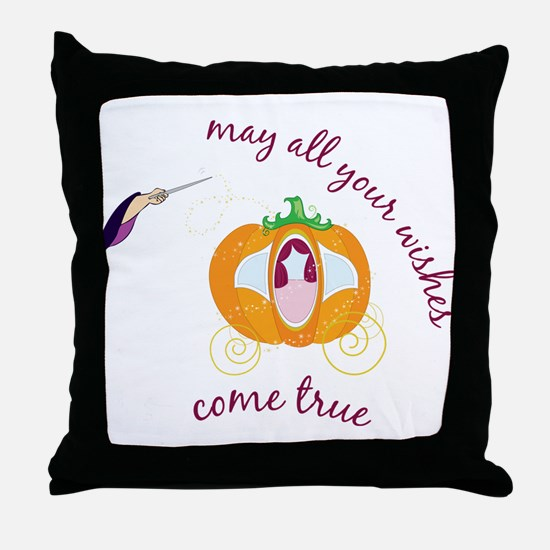 Wish Come True Throw Pillow