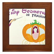 Fairy Godmother in Training Framed Tile