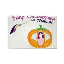 Fairy Godmother in Training Rectangle Magnet