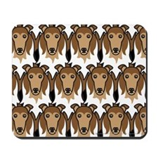 Sable Rough Collies Mousepad