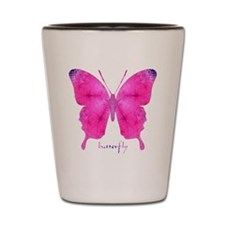 Dazzled Butterfly Shot Glass
