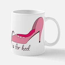 H is for Heel Mug