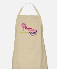Will Work for Shoes Apron