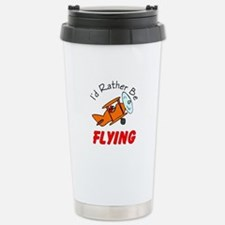 Cute Airplanes flight Travel Mug