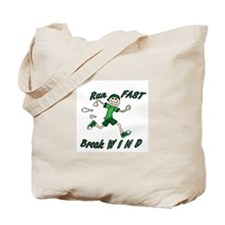 Run Fast Tote Bag