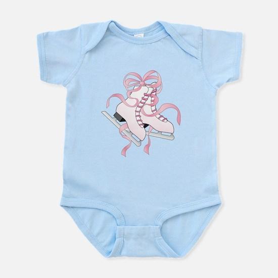 Pink Skates Infant Bodysuit
