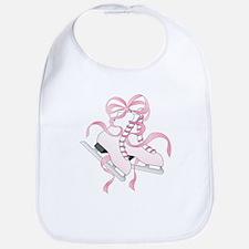 Pink Skates Bib