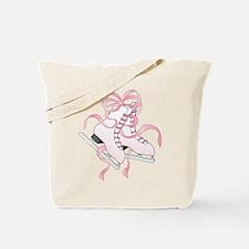Pink Skates Tote Bag
