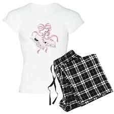 Pink Skates Pajamas