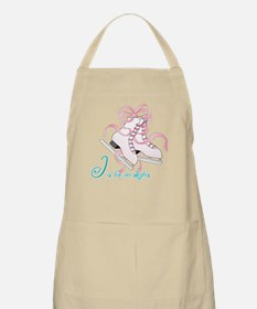 I is for Ice Skates Apron