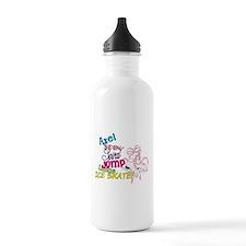 Ice Skating Water Bottle