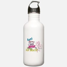 Ice Skating Water Bottle