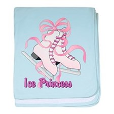 Ice Princess baby blanket