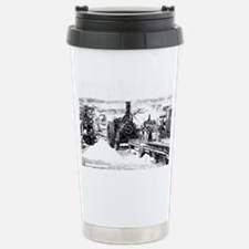 Saw cutting Stainless Steel Travel Mug