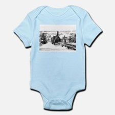 Saw cutting Infant Bodysuit