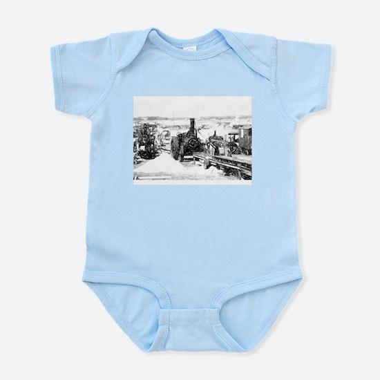Saw cutting Infant Bodysuit