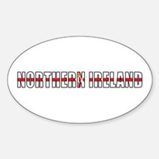 Northern Ireland Oval Decal