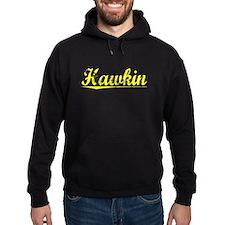 Hawkin, Yellow Hoodie