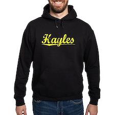 Hayles, Yellow Hoodie