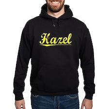 Hazel, Yellow Hoodie