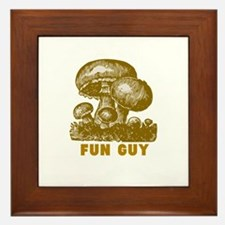 Fun Guy Framed Tile
