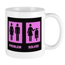 scooter girl Mug