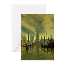 R'lyeh Greeting Cards (Pk of 10)