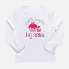 sweetest big sister Long Sleeve T-Shirt