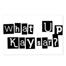 What up Kaysar? Postcards (Package of 8)
