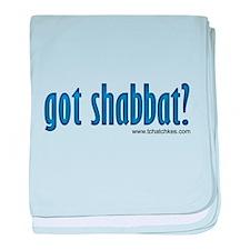 Got Shabbat? baby blanket
