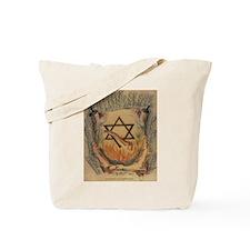 Shema & Shofar Tote Bag