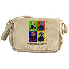 rambamwarhol2.png Messenger Bag