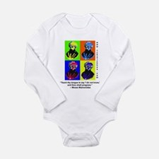 rambamwarhol2.png Long Sleeve Infant Bodysuit
