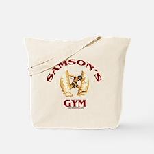 Samson's Gym Tote Bag