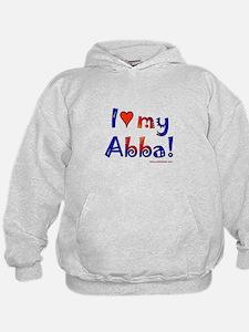 I love my abba Hoodie