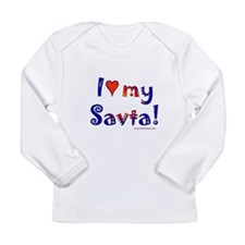 I love my Savta Long Sleeve Infant T-Shirt