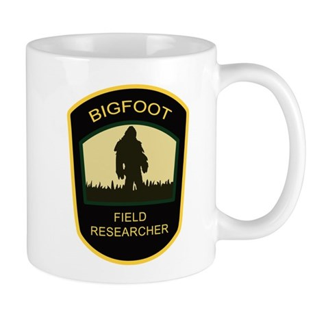 bigfoot-fr-white Mugs