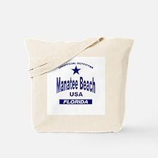 Manatee Beach Tote Bag
