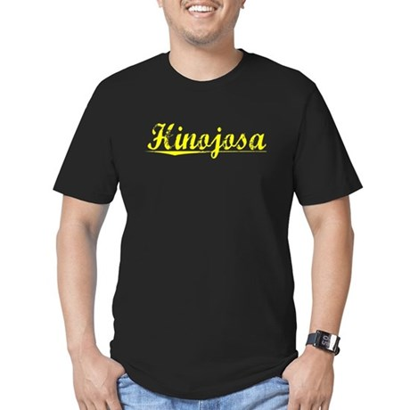 Hinojosa, Yellow Men's Fitted T-Shirt (dark)