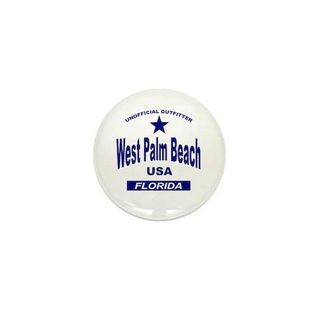 West Palm Beach Mini Button