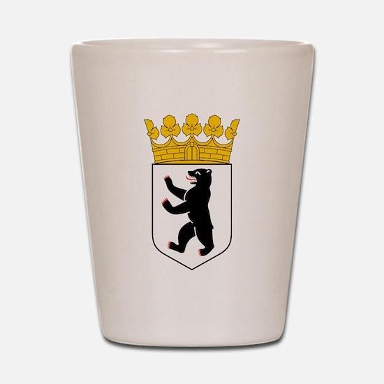 Berlin Coat of Arms Shot Glass