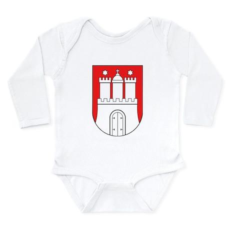 Hamburg Long Sleeve Infant Bodysuit