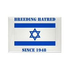 Cute Anti israel Rectangle Magnet