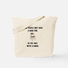 High Five Chair Tote Bag